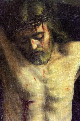 Crocifissione, particolare