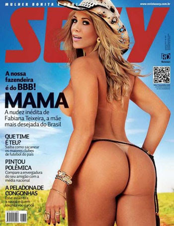 lancamentos Download – Revista Sexy - Fabiana do BBB12 - Agosto 2012