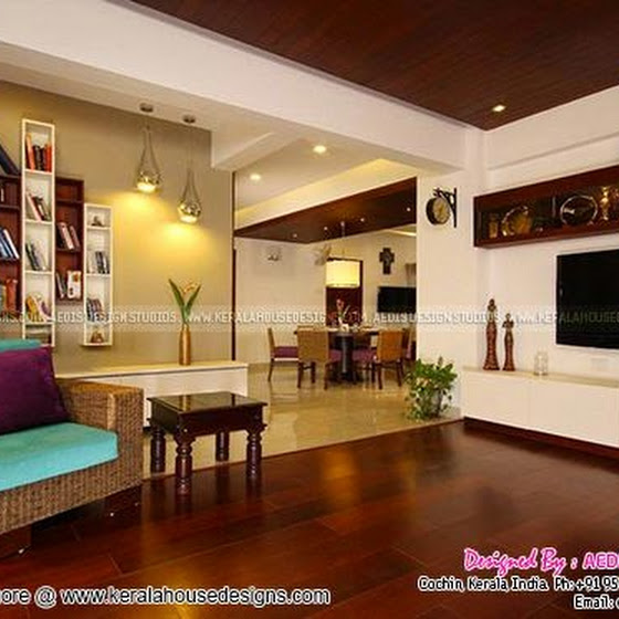 Finished interior designs by Aedis design, Cochin