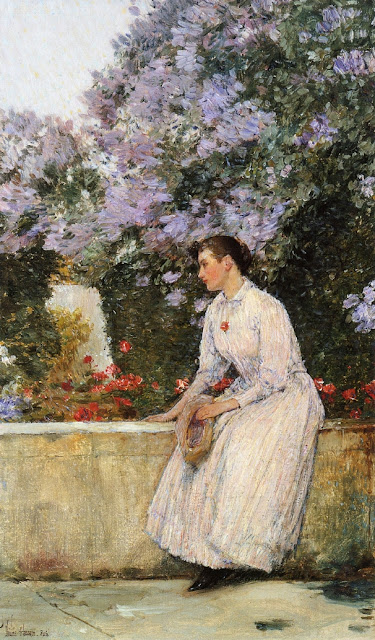 Childe Hassam - In the Garden