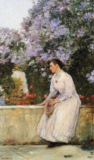 Childe Hassam - In the Garden