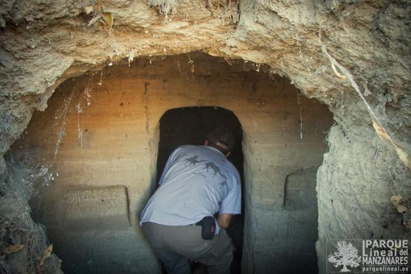 Cueva de origen musulmán en las Salinas