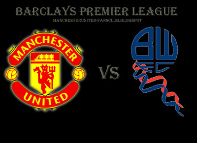 Barclays premier league Manchester United vs Bolton Wonderers