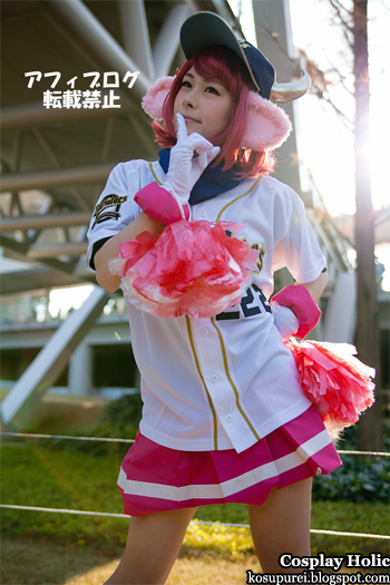 unknown cosplay 114 from comiket 81 / orix buffaloes cosplay - buffalobell