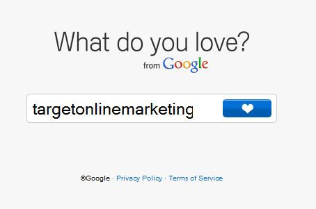 What do you love homepage