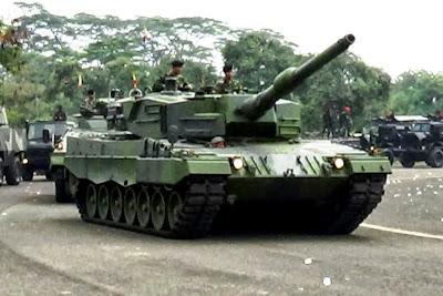 MBT Leopard TNI-AD. Prokimal Online Kotabumi Lampung Utara