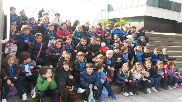 Infantil visita el Museo Marítimo