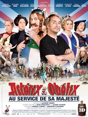 Plakat filmu: Asterix i Obelix: W służbie Jej Królewskiej Mości