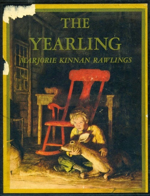 N. C. Wyeth - The Yearling by Marjorie Kinnan Rawlings, cover