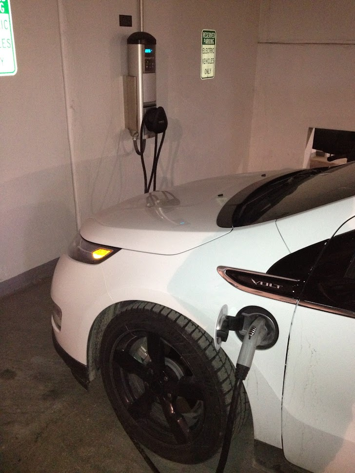 car charging, electric car, detroit,
