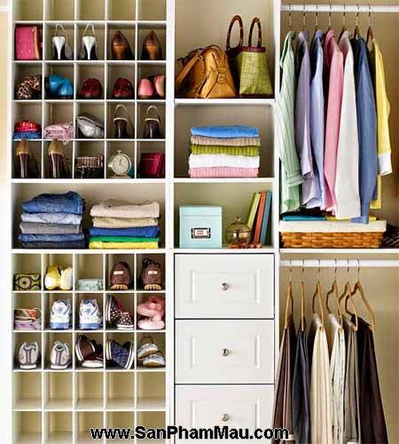 Cách trang trí tủ quần áo để được chồng khen-3