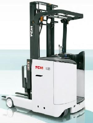 Xe nâng điện đứng lái TCM 2.5 tấn Nhật Bản
