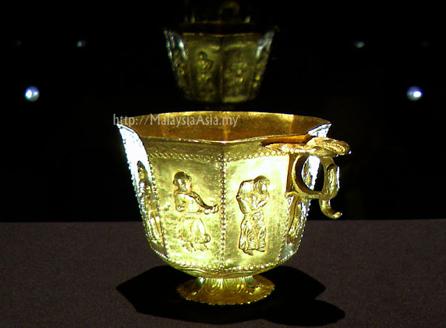 Golden Cup from a Shipwreck