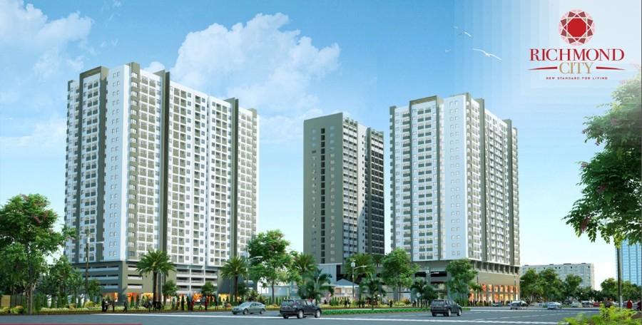 Phối cảnh dự án Richmond City Nguyễn Xí