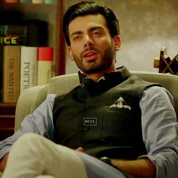 Fawad Khan in a still from Bollywood film Khoobsurat.
