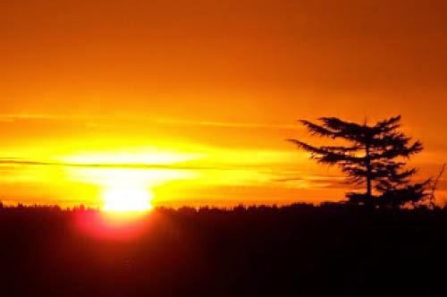 The Paradigm Of The Sunrise Via Greg Daugherty January 19Th 2013