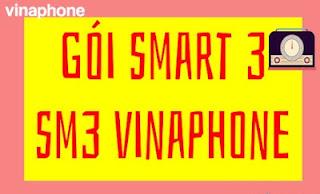 Gói Smart 3 ( SM3) Vinaphone Nhận 64GB Data, Miễn phí 1.540 phút gọi