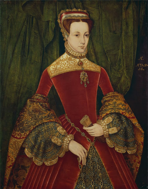 Hans Eworth - Portrait of a woman, aged sixteen, previously identified as Mary Fitzalan, Duchess of Norfolk, 1565 - Google Art Project