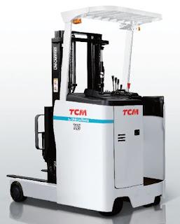Xe nâng điện đứng lái TCM 2.5 tấn J-FRB25-9L