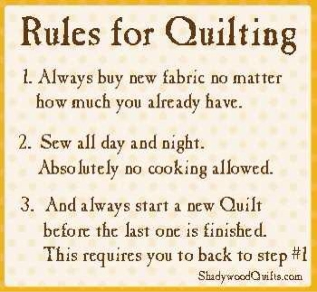 The Everything And Anything Blog: Quilting Quotes
