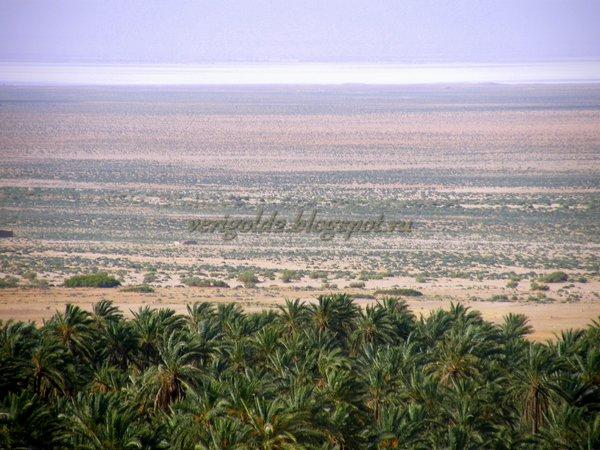 Соляные озера Туниса