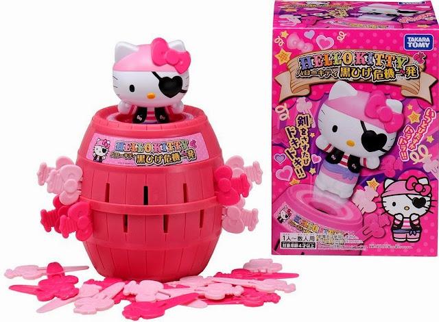 Hình ảnh cướp biển Hello Kitty tẩu thoát hoàn hảo