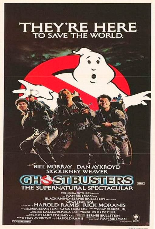 Poster Of Ghostbusters (1984) Full Movie Hindi Dubbed Free Download Watch Online At Alldownloads4u.Com