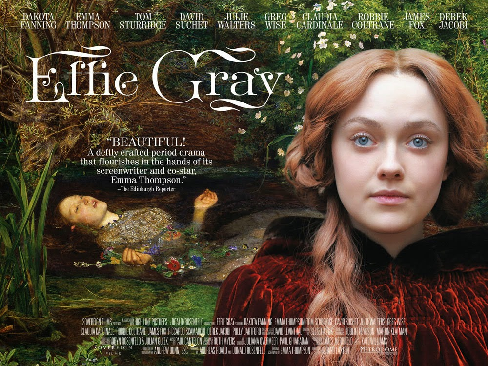 Effie gray movie poster
