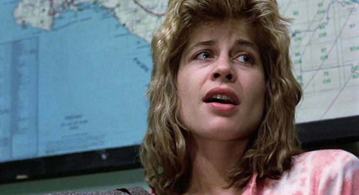 Sarah Conner in The Terminator 1984