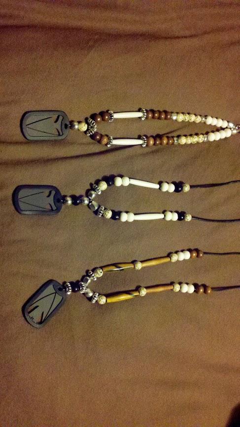 Arrowtag necklaces