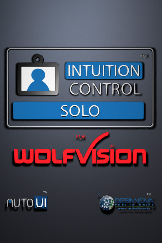 Intuition Control Solo WolfVision iphone app, iphone apps, most expensive iphone apps