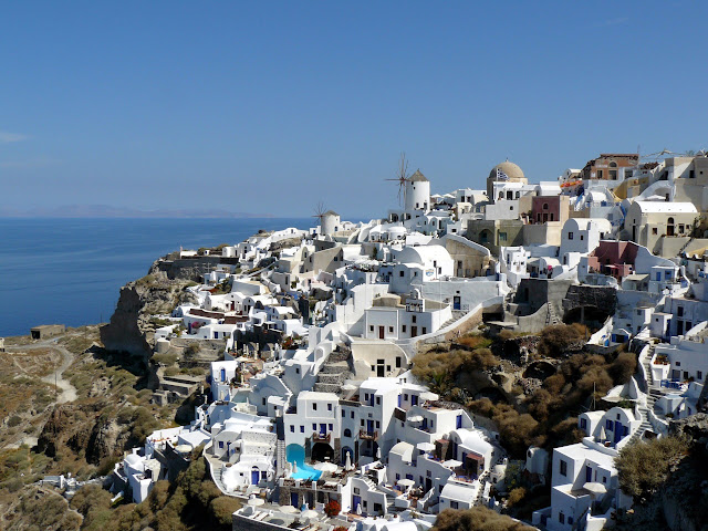 Santorini, Thira e la Caldera