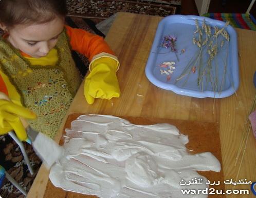 تابلوه بسيط من صنع طفلك