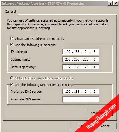 Cài đặt và cấu hình Terminal Services