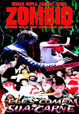 Filme Poster Zombio DVDRip XviD & RMVB Nacional