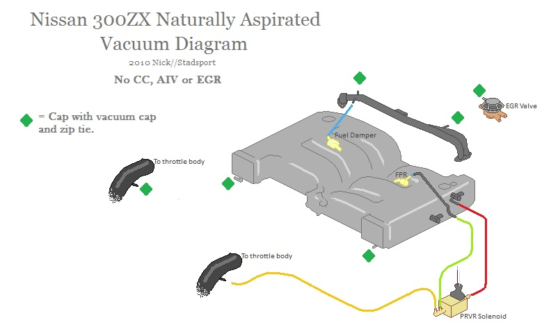 na modified vaccum hose diagram - nissan forum | nissan forums 1984 300zx heater control vacuum diagram #2