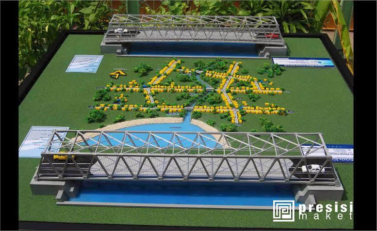 jasa pembuatan maket jembatan