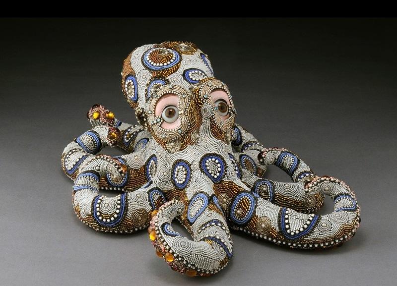 бисерный осьминог