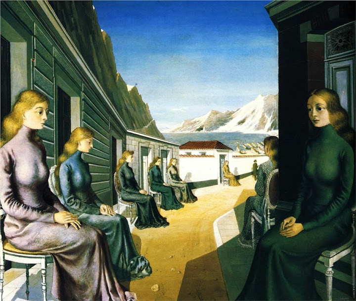 Paul Delvaux - The Village of the Sirens, 1942