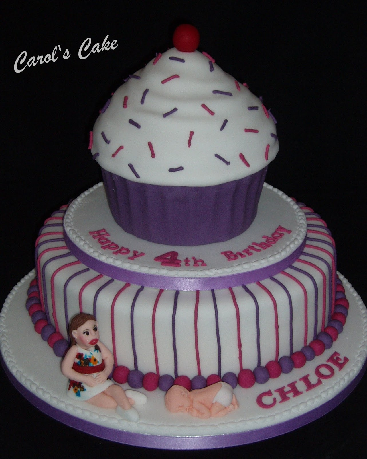 Bo On The Go Birthday Cake