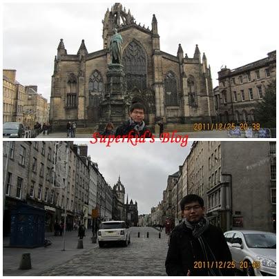 愛丁堡舊城區