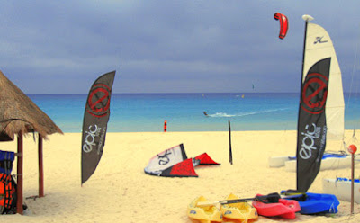 EPIC Kiteboarding Center at Sandos Playacar Resort