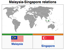 "malaysia singapore relations From 1981 to 2003, malaysia-singapore relations under mahathir were  characterised by ""confrontational diplomacy and barbed rhetoric""."