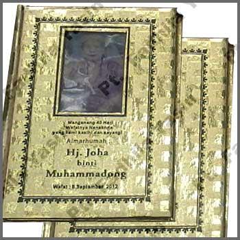 Buku Yasin Sampul Emas