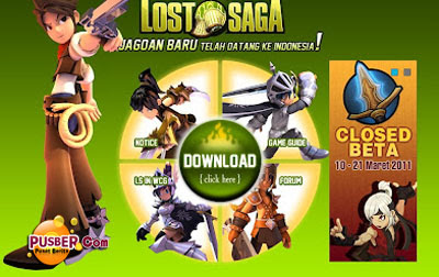 Gemscool Lost Saga, Game Online Lost Saga