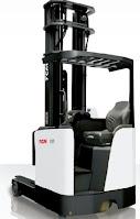Xe nâng reach truck ngồi lái TCM