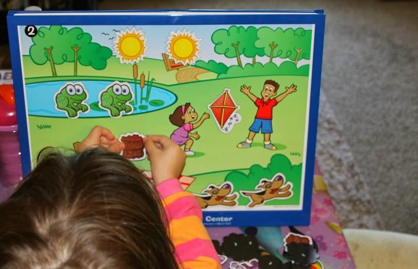 Games for Toddlers: MagneTalk Activity Center from Super Duper Publications