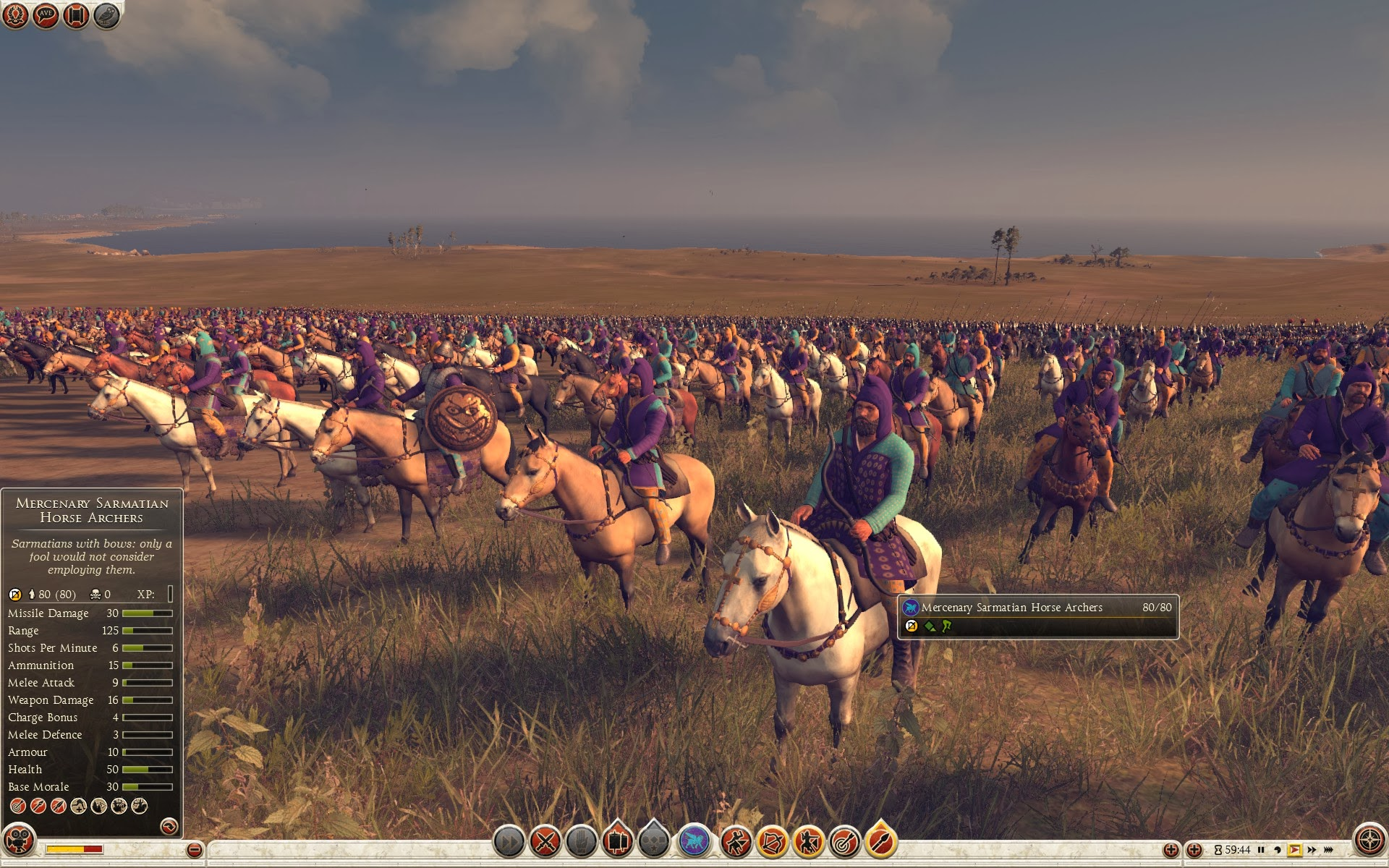 Mercenary Sarmatian Horse Archers