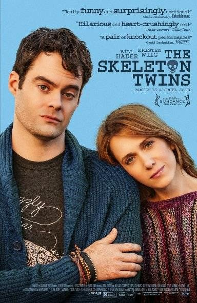Poster Of English Movie The Skeleton Twins (2014) Free Download Full New Hollywood Movie Watch Online At Alldownloads4u.Com