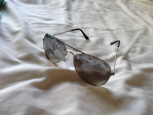 Primark Mirror Reflective Aviator Sunglasses